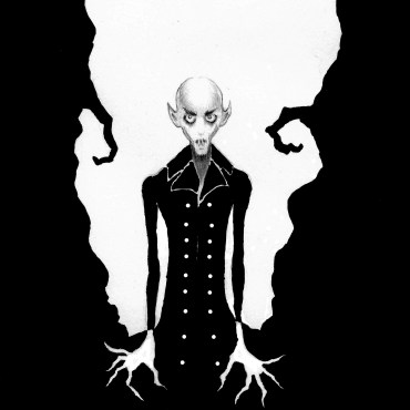 O is for Count Orlock (Nosferatu)
